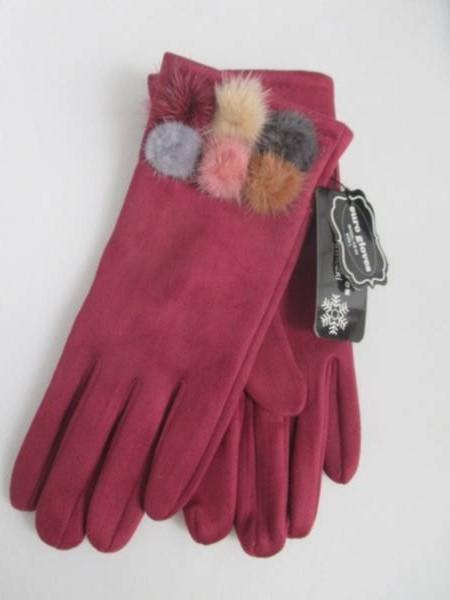 Rękawiczki Damskie CB64 MIX KOLOR M-L ( Ocieplane )