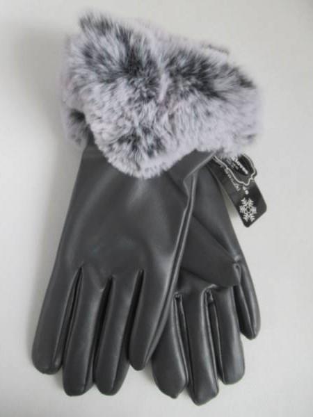 Rękawiczki Damskie CB62 MIX KOLOR M-L ( Ocieplane )