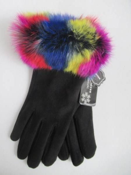 Rękawiczki Damskie C18 MIX KOLOR M-L ( Ocieplane )