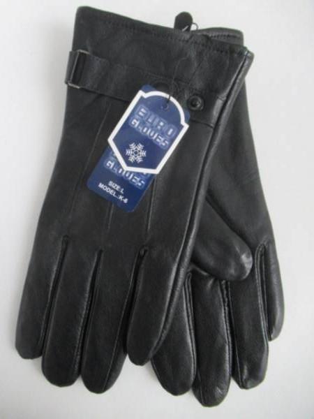 Rękawiczki Męskie K6 1 KOLOR L-XL ( Ocieplane )