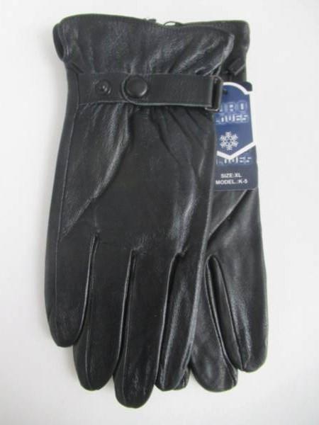 Rękawiczki Męskie K5 1 KOLOR L-XL ( Ocieplane )