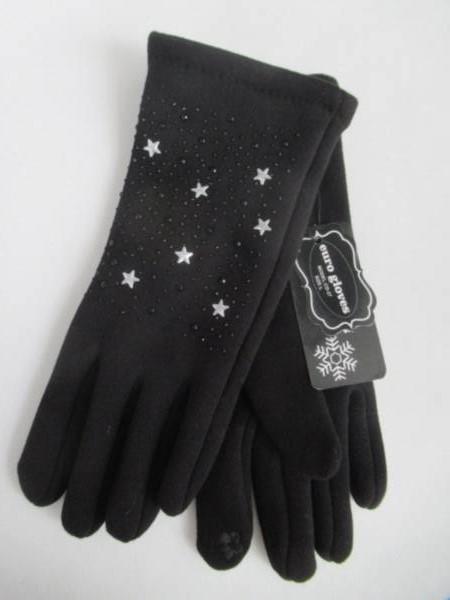 Rękawiczki Damskie CD27 MIX KOLOR M-L ( Ocieplane )