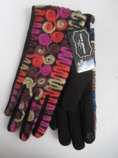 Rękawiczki Damskie CB50 MIX KOLOR M-L ( Ocieplane )