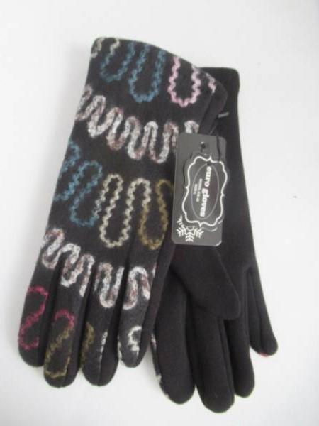 Rękawiczki Damskie CB48 MIX KOLOR M-L ( Ocieplane )