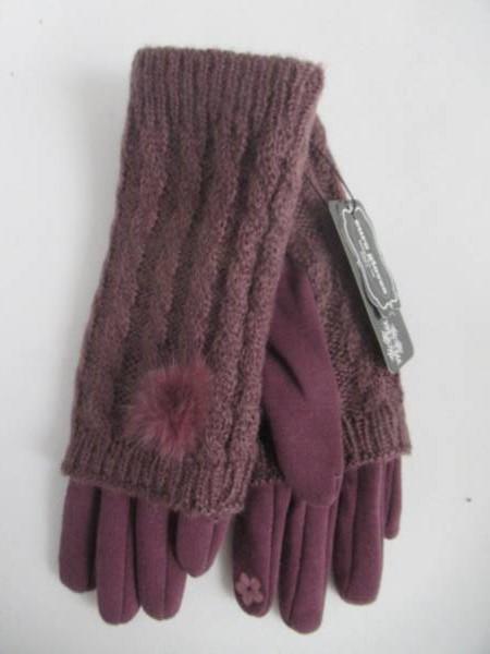 Rękawiczki Damskie CA140 MIX KOLOR M-L ( Ocieplane )