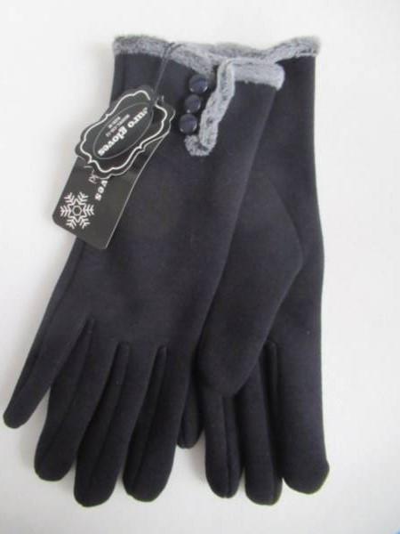 Rękawiczki Damskie CD12 MIX KOLOR M-L ( Ocieplane )
