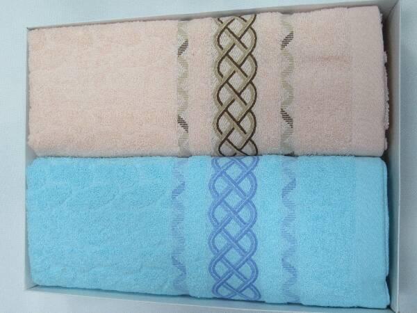 Komplet Ręczników F9819 MIX KOLOR 70X140 CM