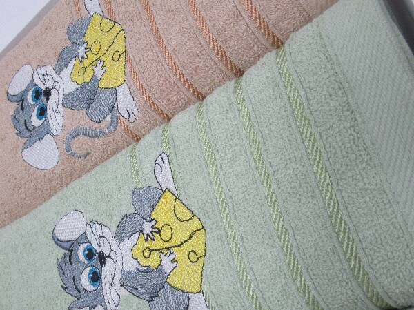 Komplet Ręczników F9831 MIX KOLOR 70X140 CM