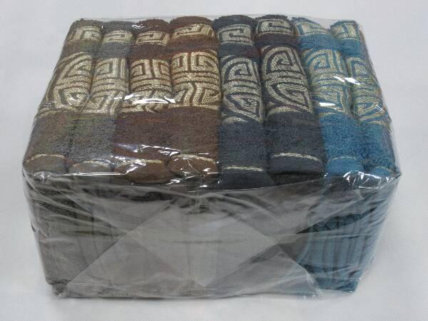 Komplet Ręczników F9845 MIX KOLOR 50X100 CM