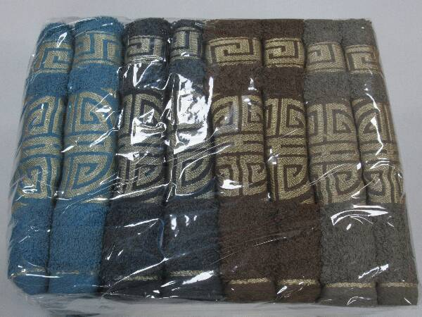 Komplet Ręczników F9852 MIX KOLOR 50X100 CM