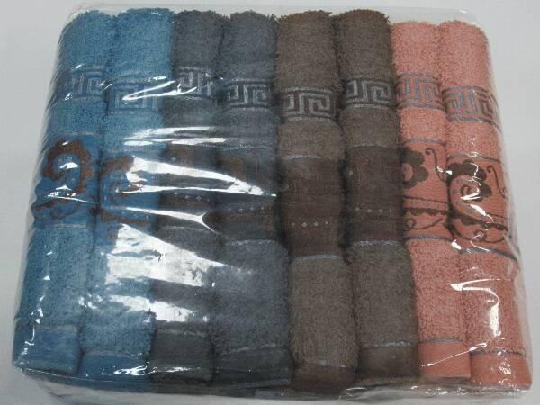Komplet Ręczników F9870 MIX KOLOR 50X100 CM