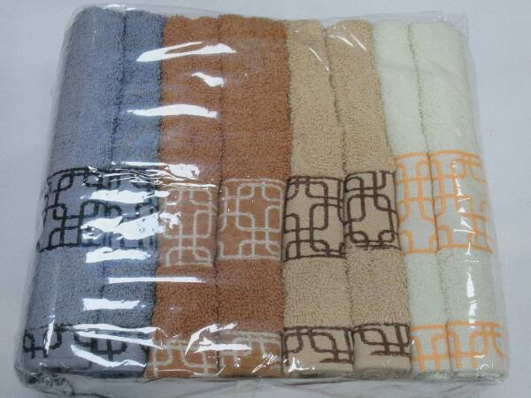 Komplet Ręczników F9843 MIX KOLOR 50X100 CM