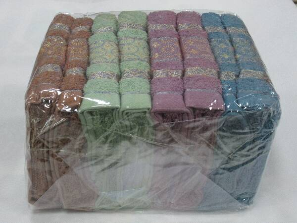 Komplet Ręczników F9882 MIX KOLOR 50X100 CM