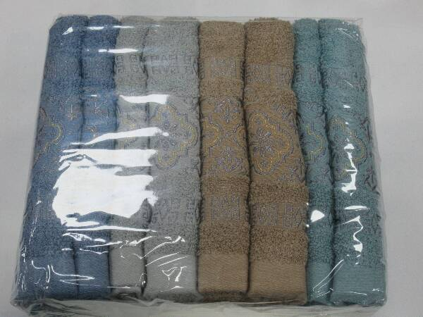 Komplet Ręczników F9888 MIX KOLOR 50X100 CM