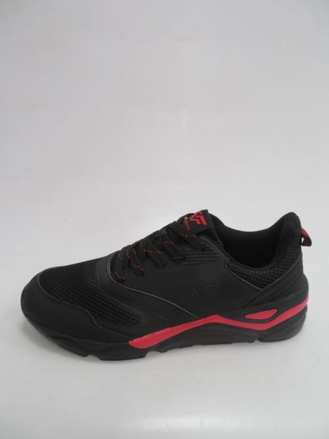 Buty Sportowe Męskie T2018, Black/Red, 41-46