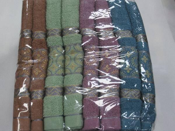 Komplet Ręczników F9897 MIX KOLOR 70X140 CM