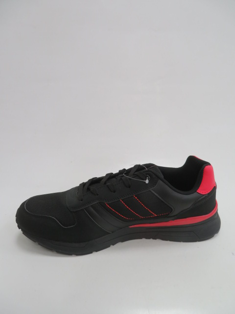 Buty Sportowe Męskie T2016, Black/Red, 41-46