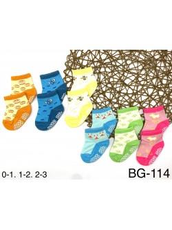 Skarpety Dziecięce BG114 MIX KOLOR 0-3 MSC