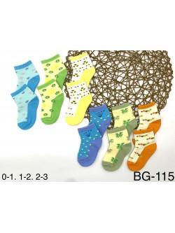 Skarpety Dziecięce BG115 MIX KOLOR 0-3 MSC