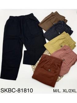 Spodnie Damskie 81810  MIX KOLOR M-2XL