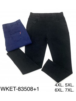 Spodnie Damskie 83508+1 MIX KOLOR 4XL-7XL