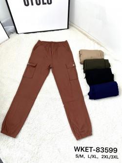 Spodnie Damskie 83599 MIX KOLOR S-3XL