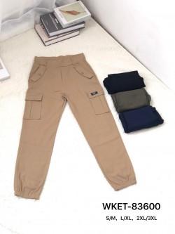Spodnie Damskie 83600 MIX KOLOR S-3XL