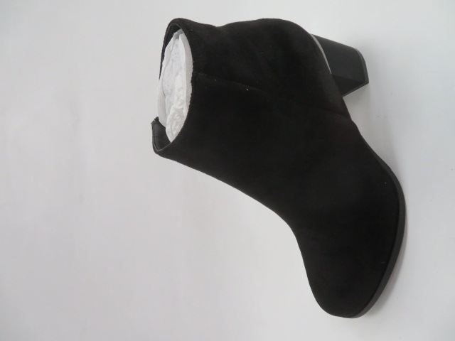 Botki Damskie F-18071-9A, Black, 36-41