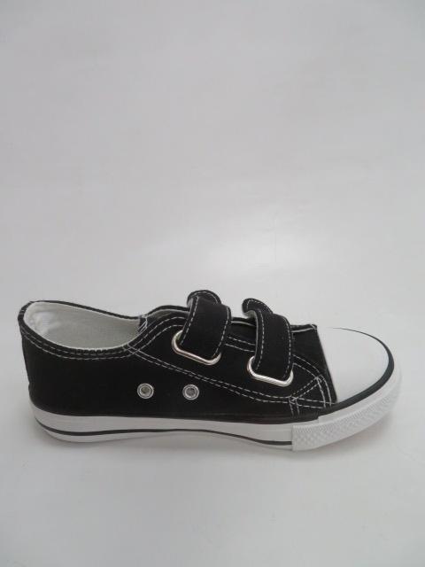Trampki Dziecięce 7A07, Black , 31-36