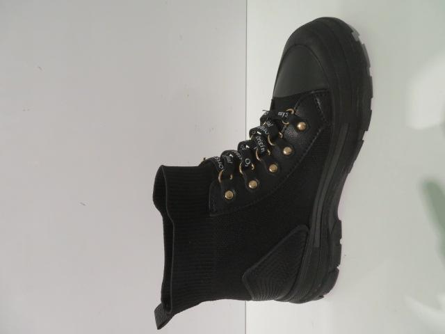 Botki Damskie HQ-22, All Black, 36-41 3