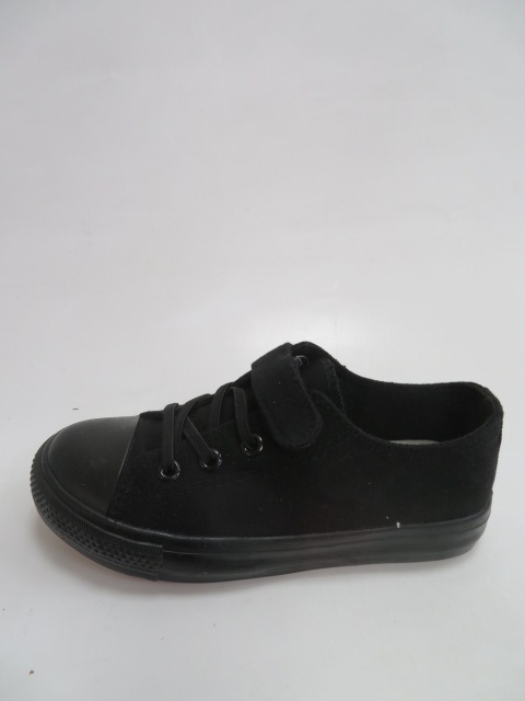 Trampki Dziecięce 9A07, All Black, 31-36