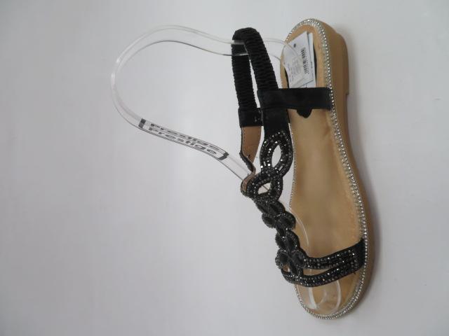 Sandały Damskie 5351, Black, 36-41