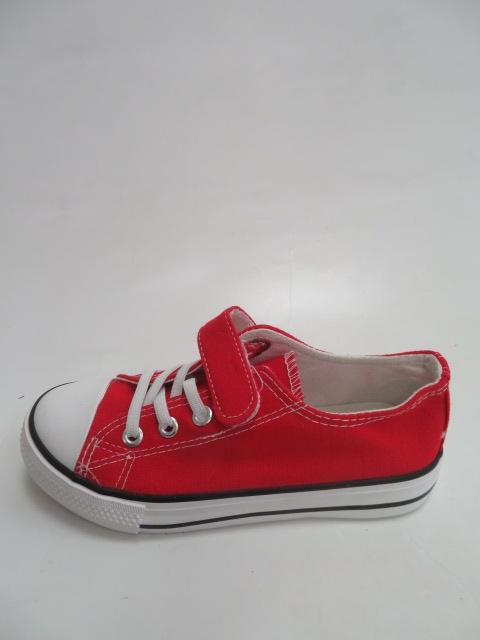 Trampki Dziecięce 9A07, Red, 31-36