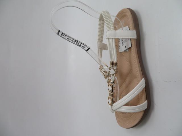 Sandały Damskie 2055, White, 36-41