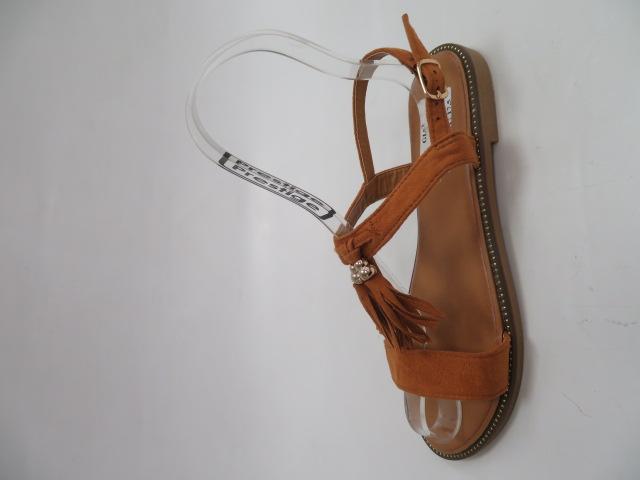 Sandały Damskie H143, Camel, 36-41