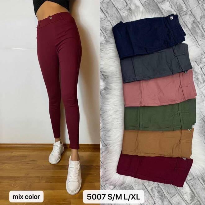 Spodnie Damskie 5007 MIX KOLOR S/M-L/XL