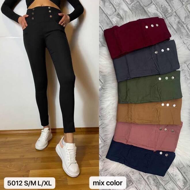 Spodnie Damskie 5012 MIX KOLOR S/M-L/XL