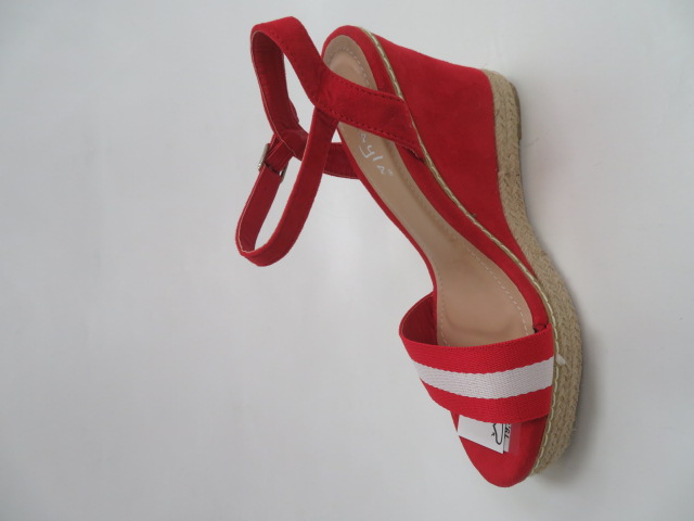 Czółenka Damskie LL6230, Red, 36-41
