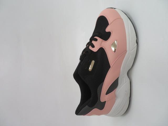 Sportowe Damskie R-02, Black/Pink, 36-41