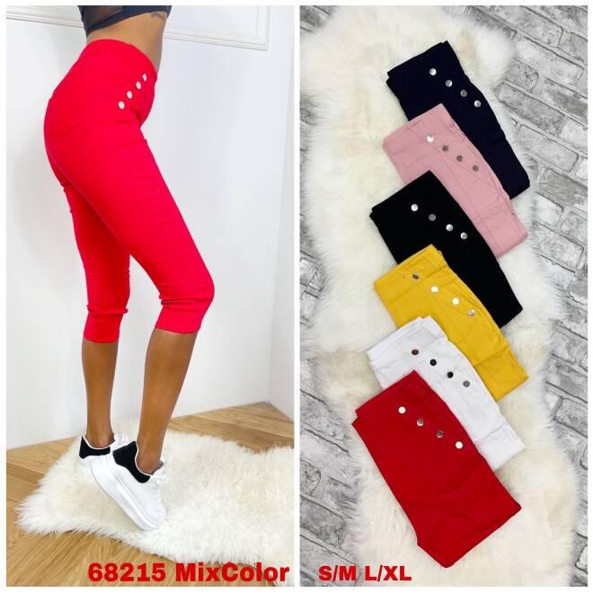 Spodnie Damskie 68215 MIX KOLOR S/M-L/XL