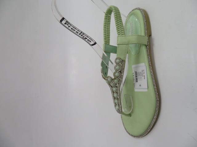 Sandały Damskie S147, Green, 36-41