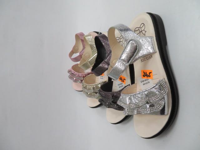 Sandały Dziecięce JJ15-2, Mix color, 32-37 1