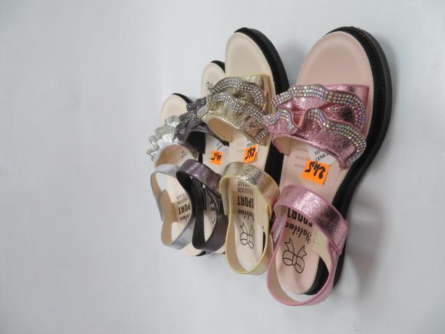 Sandały Dziecięce JJ15-2, Mix color, 32-37 2