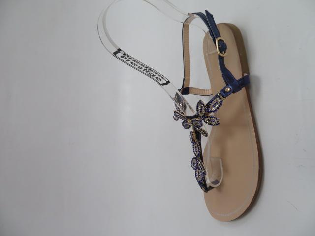 Sandały Damskie 7701, Blue, 36-41