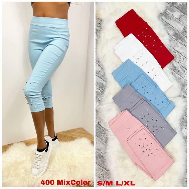 Spodnie Damskie 400 MIX KOLOR S/M-L/XL