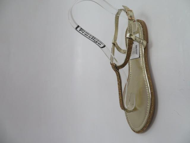 Sandały Damskie L61, Gold, 36-41