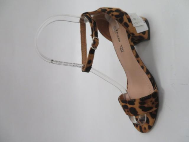 Sandały Damskie 1-85, Leopard, 36-41