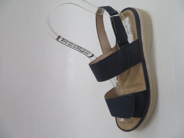Sandały Damskie Q-65, Blue, 36-41