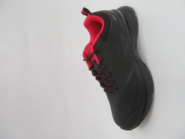 Buty Sportowe Męskie 2622-2, Black/Red, 41-46