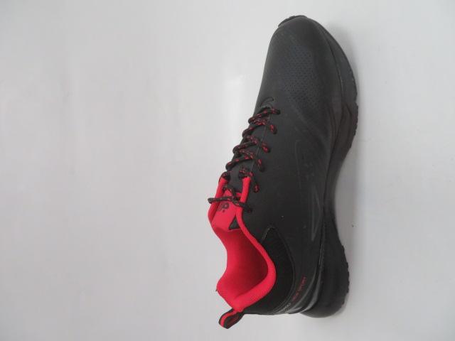 Buty Sportowe Męskie 2622-2, Black/Red, 41-46 2